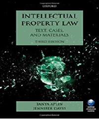 Kết quả hình ảnh cho Intellectual Property law: Text, cases, and materials